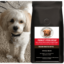 Load image into Gallery viewer, Pookie's Peru Decaf Organic (12 oz) - Harvey Coffee Company