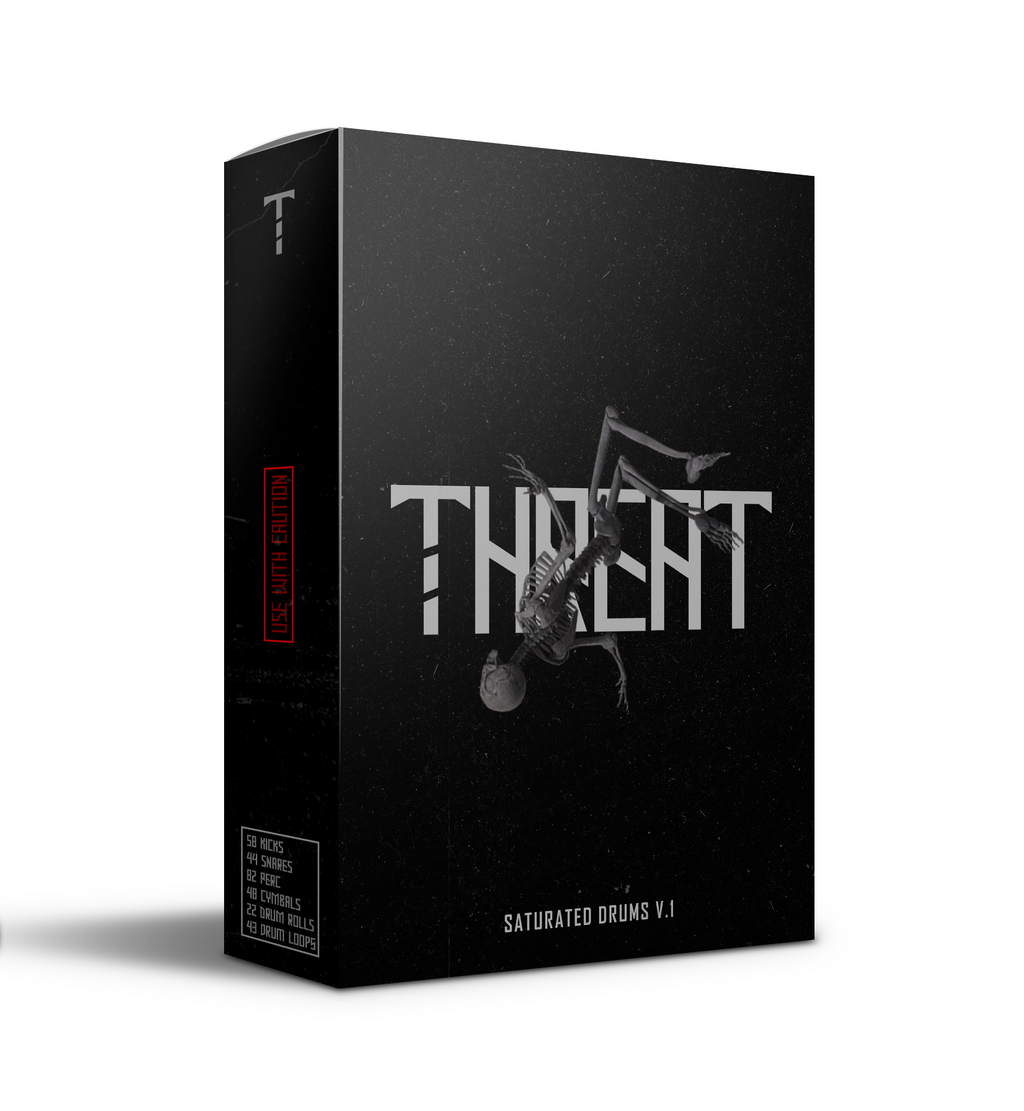 THREAT'S SATURATED DRUMS V.1