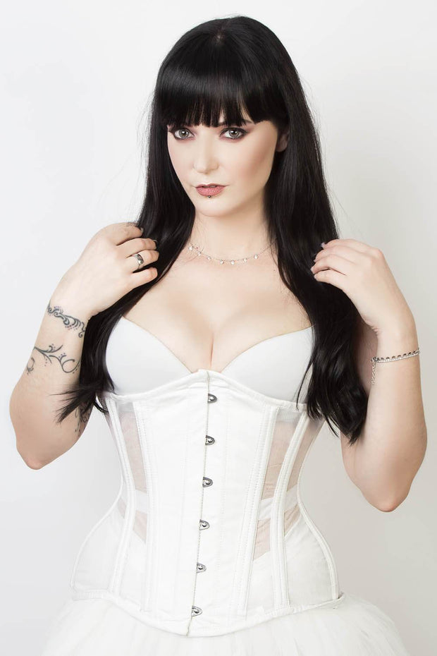 Mesh with Cotton Waist Training Corset