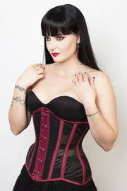 Mesh with Cotton Waist Reducing Corset