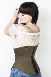 Waist Reducing Underbust Cotton Corset