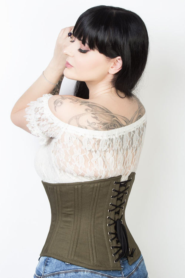 Cotton Underbust Waist Trainer Corset