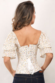 Khadija Waist Reducing Floral Summer Corset