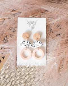 Pink & Taupe Spot