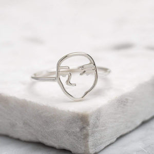 Picasso Ring - Silver