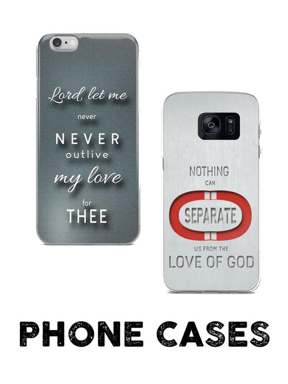 Christian Faith Based Phone Cases, Clothing, and Gifts