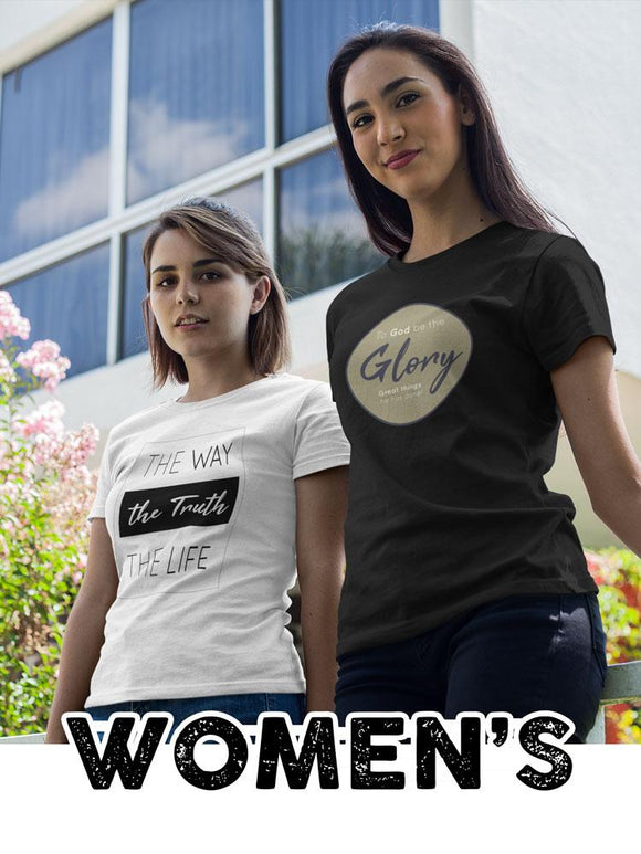 All Women's Christian Faith Based Clothing and Gifts