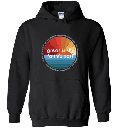 Great is thy Faithfulness Youth Hoodie