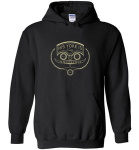 His Yoke Is Easy Christian Sweatshirt Hoodie | Pullover Hoodies