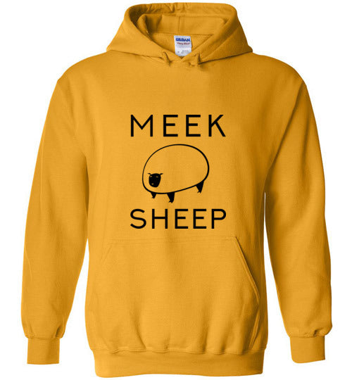 Meek Sheep Logo Christian Sweatshirt Hoodie | Pullover Hoodies