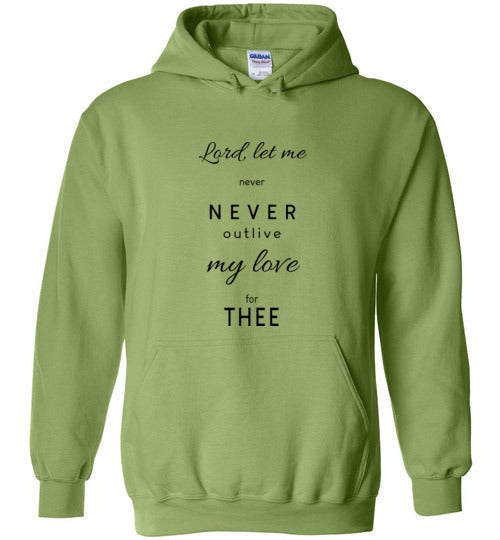 Lord Let Me Christian Sweatshirt Hoodie | Pullover Hoodies