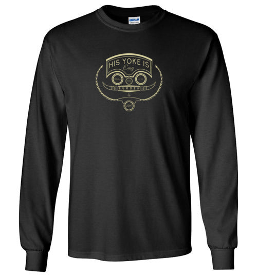 His Yoke Is Easy Long Sleeve T-Shirt