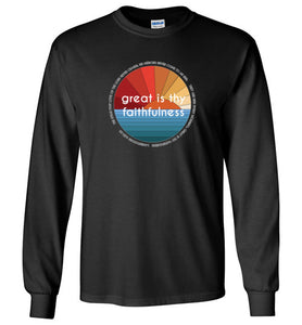 Great is thy Faithfulness Youth Long Sleeve T-Shirt