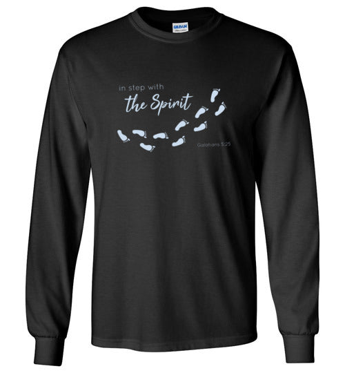 In Step With The Spirit Long Sleeve T-Shirt
