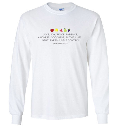 Fruit of the Spirit Youth Long Sleeve T-Shirt