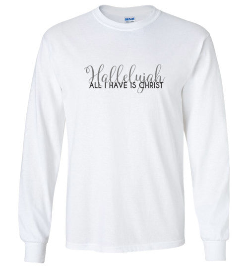 Hallelujah Long Sleeve T-Shirt