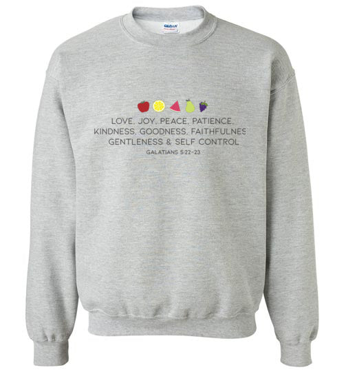 Fruit of the Spirit Sweatshirt
