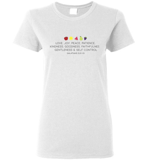 Fruit of the Spirit Ladies Short-Sleeve