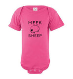 Meek Sheep Logo Infant Onesie