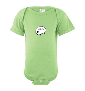 Meek Sheep Infant Onesie