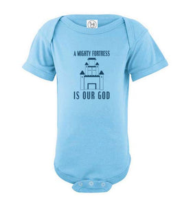 Mighty Fortress Infant Onesie