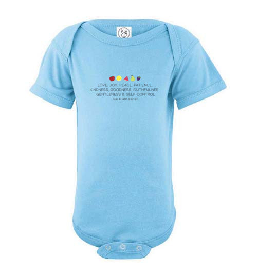 Fruit of the Spirit Infant Onesie