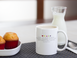 Fruit of the Spirit Christian Coffee Mugs | Tea Mugs | Christian Gifts
