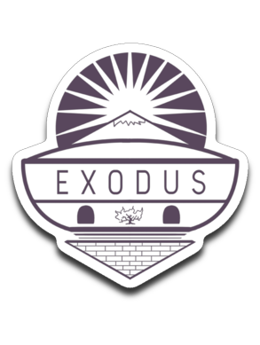Exodus Bumper | Laptop | Notebook Stickers