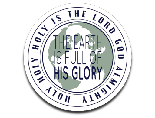 Earth Full of Glory Bumper | Laptop | Notebook Stickers