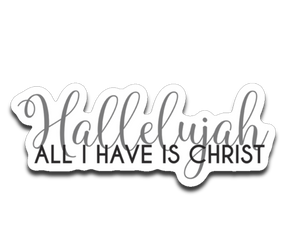 Hallelujah Bumper | Laptop | Notebook Stickers