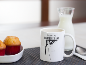 Upheld Christian Coffee Mugs | Tea Mugs | Christian Gifts