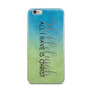 Hallelujah Christian iPhone Case | Christian iPhone Cover