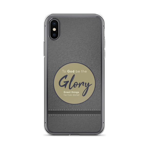 To God Be The Glory Christian iPhone Case | Christian iPhone Cover