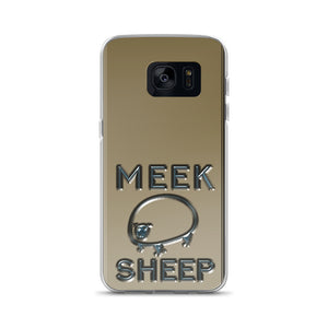 Meek Sheep Logo Samsung Case