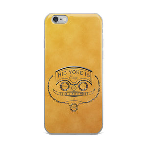 His Yoke Is Easy Christian iPhone Case | Christian iPhone Cover