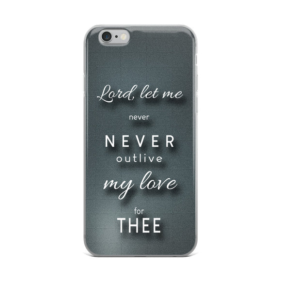 Lord Let Me Christian iPhone Case | Christian iPhone Cover