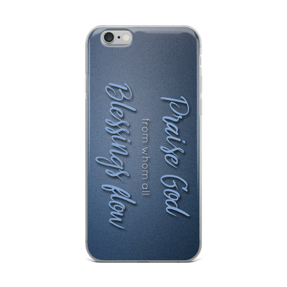 Praise God Christian iPhone Case | Christian iPhone Cover