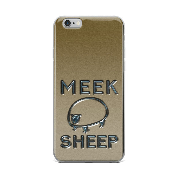 Meek Sheep Logo Christian iPhone Case | Christian iPhone Cover