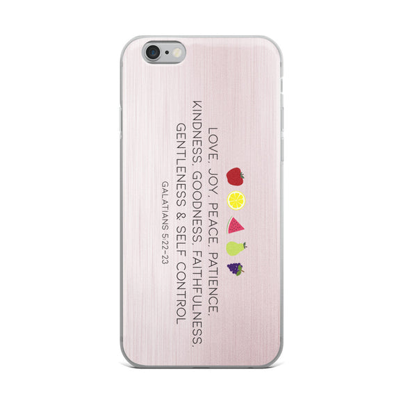 Fruit of the Spirit Christian iPhone Case | Christian iPhone Cover