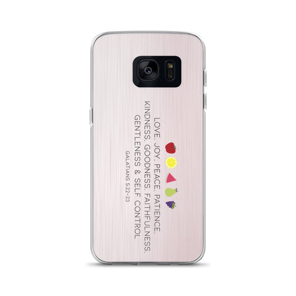 Fruit of the Spirit Samsung Case