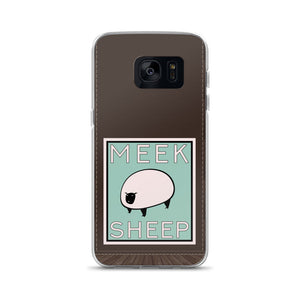 Vintage Meek Sheep Samsung Case