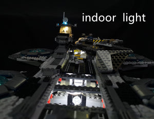 Building Kits Led Light For lego Shield Helicarrier Model