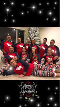 Load image into Gallery viewer, Family Pajamas Set Moose Christmas