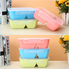 Load image into Gallery viewer, Food Container Portable Lunch Box Healthy Plastic