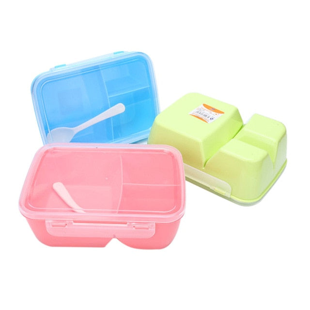 Food Container Portable Lunch Box Healthy Plastic