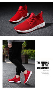 Men's fashion casual shoes mesh sneakers