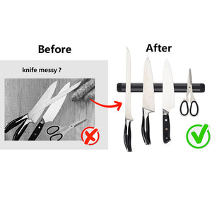 Quality Magnetic Knife Holder Wall Mount ABS