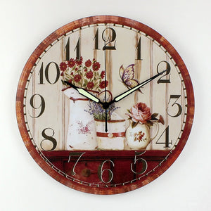 Vintage large decorative wall clock