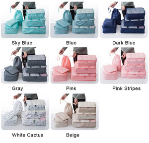 Travel Bags Sets Waterproof Packing