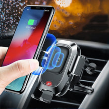 Load image into Gallery viewer, Sensor Fast Wireless Charging Car Phone Charger